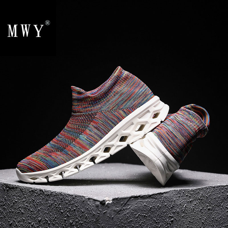 MWY Outdoor Lightweight Sports Sneakers Fitness Shoes Women Zapatillas Mujer Deportiva Gym Jogging Shoes Plus Size