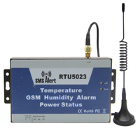 GSM SMS Environment Alarm Remote Monitoring Temperature Humidity Power Status By Wireless GSM Network