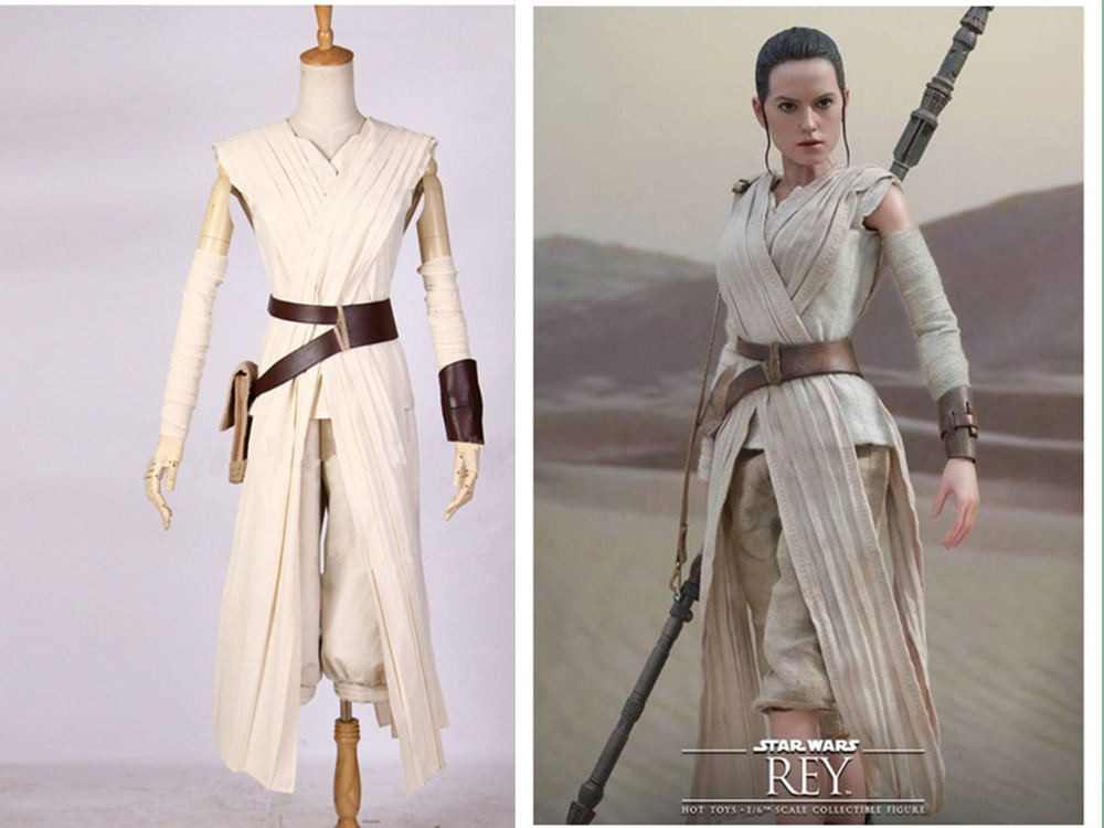 star wars costume adult the force awakens Rey cosplay Carnival party ...