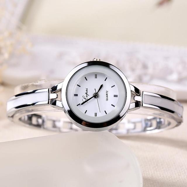 Bracelet Rhinestone Wristwatch  For Women 2