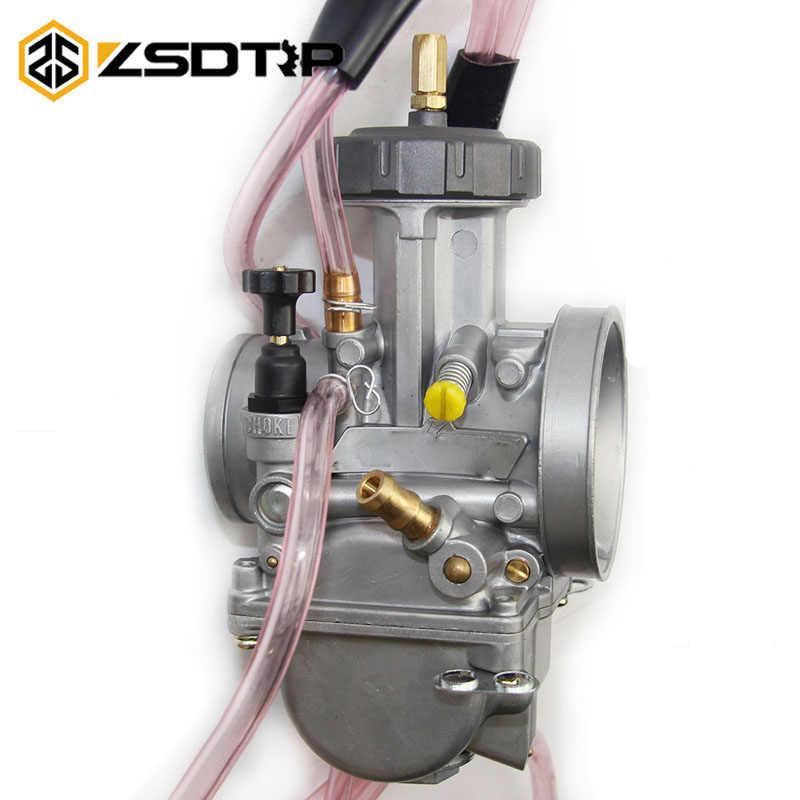 ZSDTRP KEIHIN PWK 33 34 35 36 38 40 42mm carburateur Carburador universel 2T/4T moteur moto Scooter UTV ATV 150-600cc