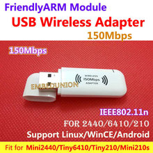 Wi-fi 11n Wi-Fi USB Adapter 150M Wifi Wi-fi USB Adapter Match for MINI2440 TINY6410Tiny210 MINI210 For Android,Linux,WinCE