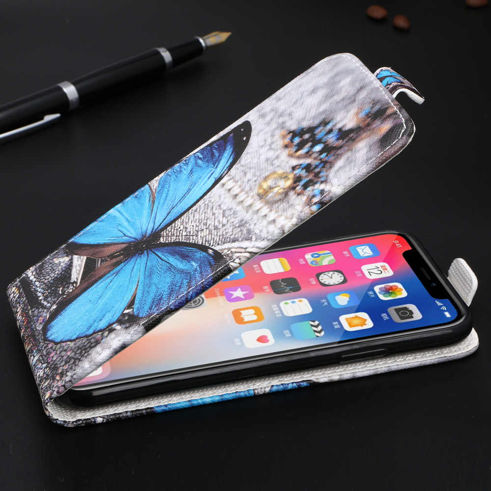 Cartoon Flip Case for Huawei Honor 8S 8 S 5.71'' Cover Plain Phone case for Huawei Huawei Honor 8S Patterned Cute Fitted Case