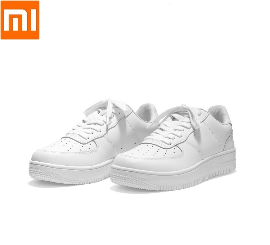 Xiaomi 90 повседневная мужская обувь для скейтборда, спортивные уличные кроссовки из воловьей кожи, нескользящая обувь, обувь на толстой плоско...