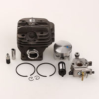 Cylinder Piston Ring Sets For STIHL 026 MS260 With Carburetor Oil Fuel Filter Chainsaw Parts 44mm