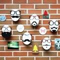 Popular EVA Korean Style Sunglass Display Sticker Props Eyewear Holder Face-Model Showcase Glasses Showing Rack Stand Sticky