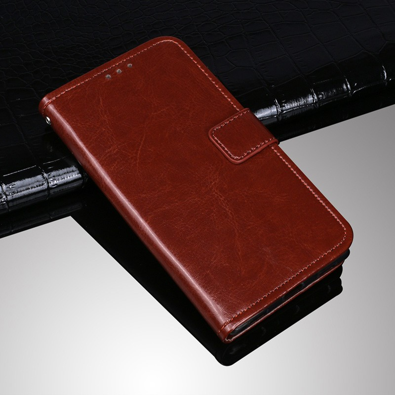 For <font><b>Prestigio</b></font> Wize D3 E3 k3 <font><b>PSP3503DUO</b></font> CaseRetro Style Leather Case Flip Cover With Card Slot with strap Phone Coque fundas image