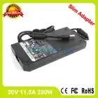 Тонкий адаптер переменного тока 20 в 11.5A 230 Вт Зарядное устройство для ноутбука lenovo ThinkPad W700 W701 W710 A230A001L 45N0064 45N0065
