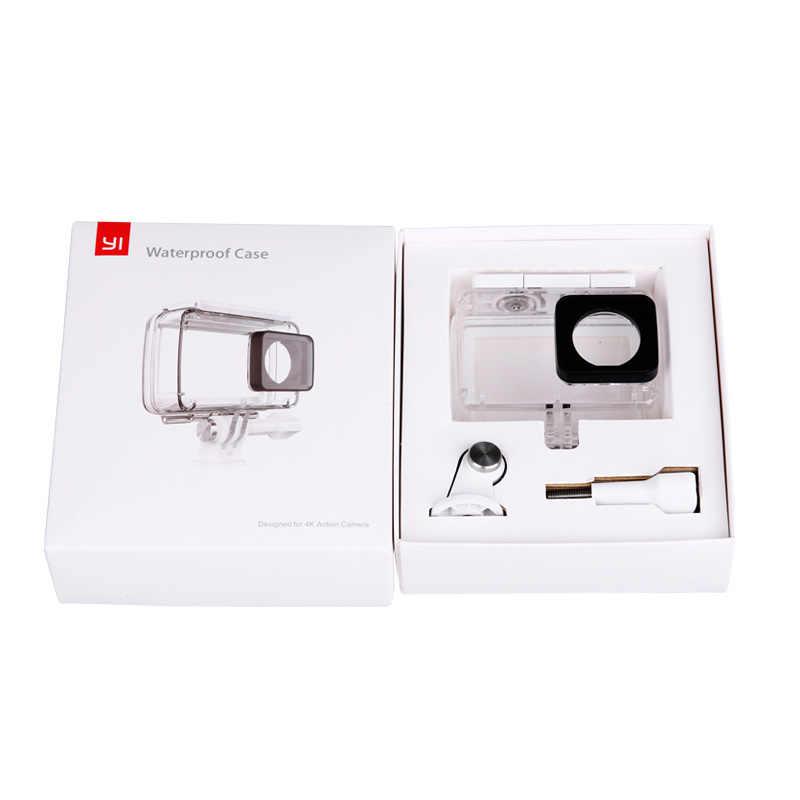 Новое поступление водонепроницаемый чехол для дайвинга для оригинальной экшн-камеры Xiao mi YI, корпус Xiaoyi II 2 4 K, чехол Xiao mi YI 4 K 2 аксессуары