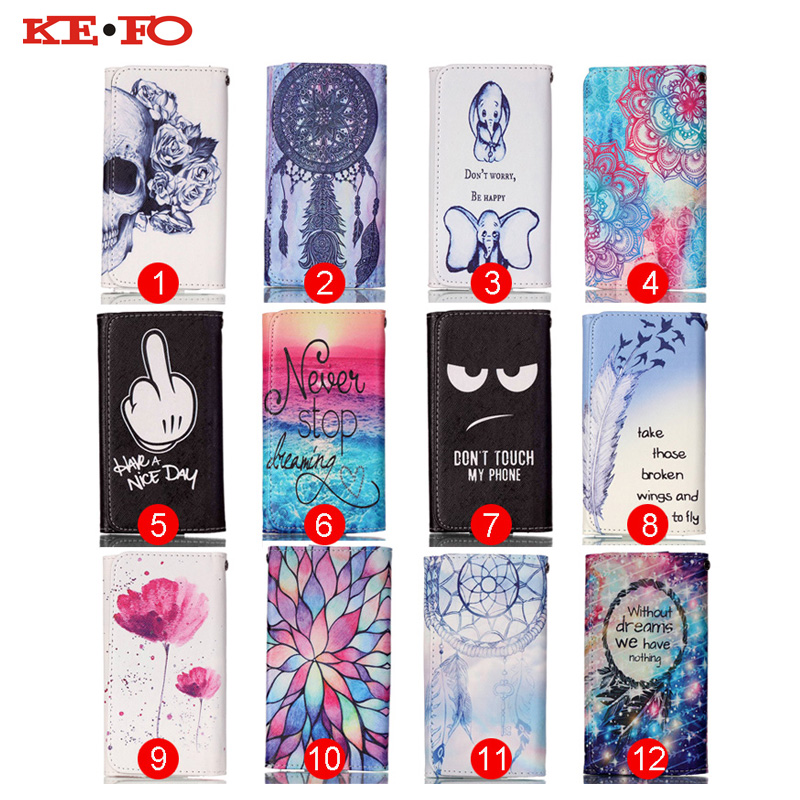 Book Style Magnetic Mobile phone protect case Beautiful Painting Leather Flip Wallet pouch cover For Meizu Mx6