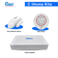 NEO Coolcam C IHome Kits Wireless Alarm System Support Phone APP Control For Home Security
