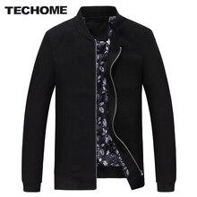 2016 Hot Sale Slim Thin Men Jacket spring Autumn winter Fashion Clothes of high quality cotton fabric Jackets ZIP closure M-4XL