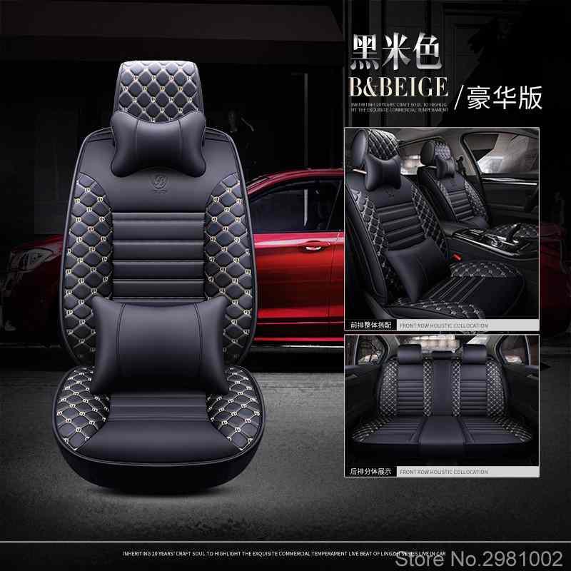 Housses de siège auto universelles en cuir pour Mercedes Benz tous les modèles E C GLA CLA CLS S A B CLK SLK G GLS GLE GL ML GLK class