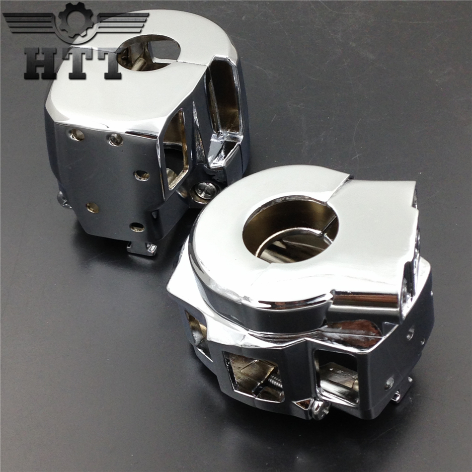 Aftermarket free shipping motorcycle parts  Chrome Switch Housing Cover for Suzuki  GSXR600 GSXR750 GSXR1000 Hayabusa GSXR1300 aftermarket free shipping motorcycle parts for motorcycle 2006 2007 suzuki gsxr 600 750 2005 2008 gsx r 1000 chrome