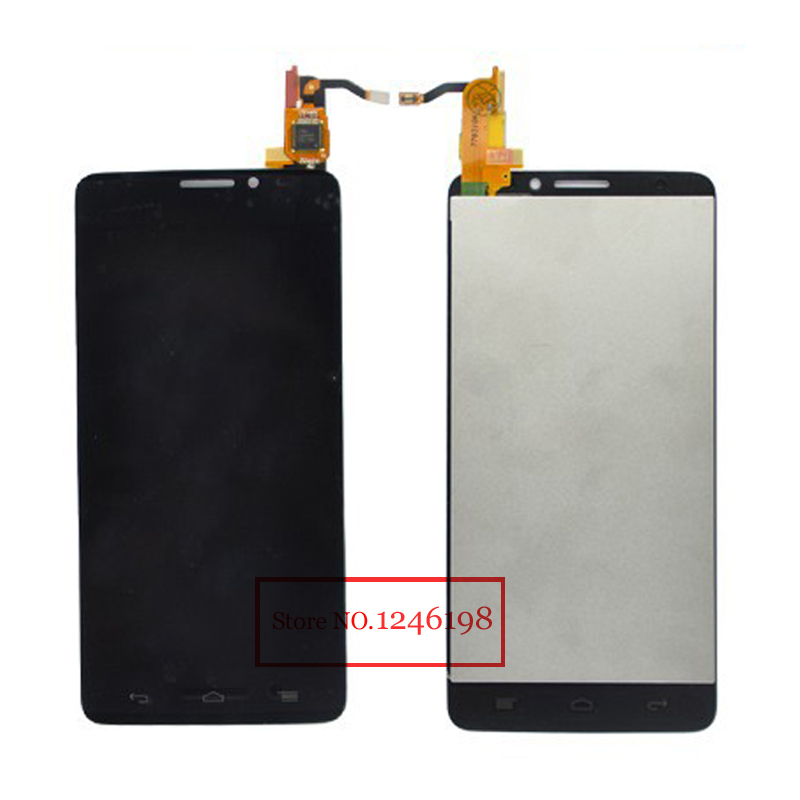 Full LCD Touch Screen Digitizer Assembly For Alcatel One Touch Idol X OT6040 6040 6040D 6040E 6040A OT-6040D Free Shipping