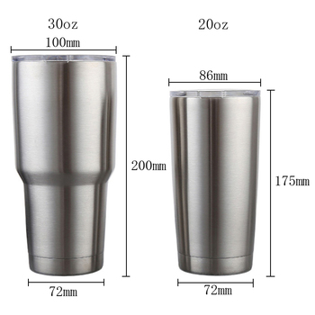 20/30 OZ Stainless Steel Travel Mug Double Wall Vacuum Insulation Water Coffee Cup Insulated Tumbler with Lid Outdoor Coffee Mug