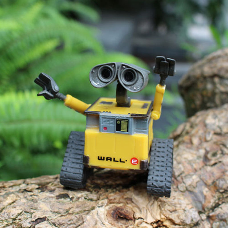 Original Box Wall E Toy Do Older Walle Action Figure PVC Model Collection Toys Wall-E Robot Figures Dolls Kids Toys one piese action figure 28cm dracula mihawk arrogant expression model pvc figures collection toy for children