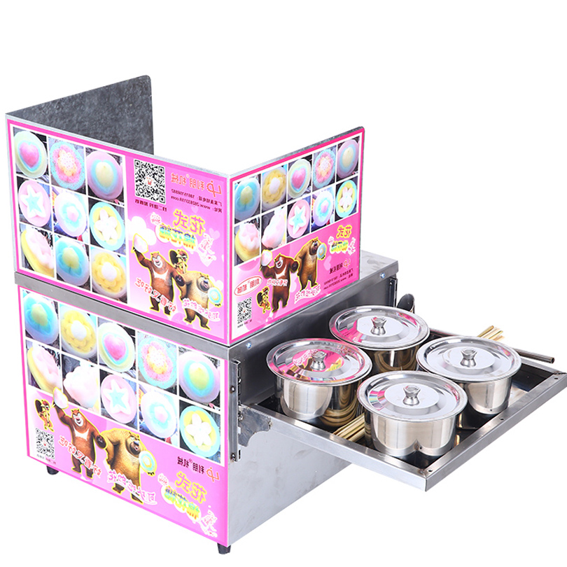 Hot Sale Flower Cotton Candy Machine/Candy Floss Making Machine with Low Price many flavour professional cotton candy machine cotton candy machine price low price cotton candy machine