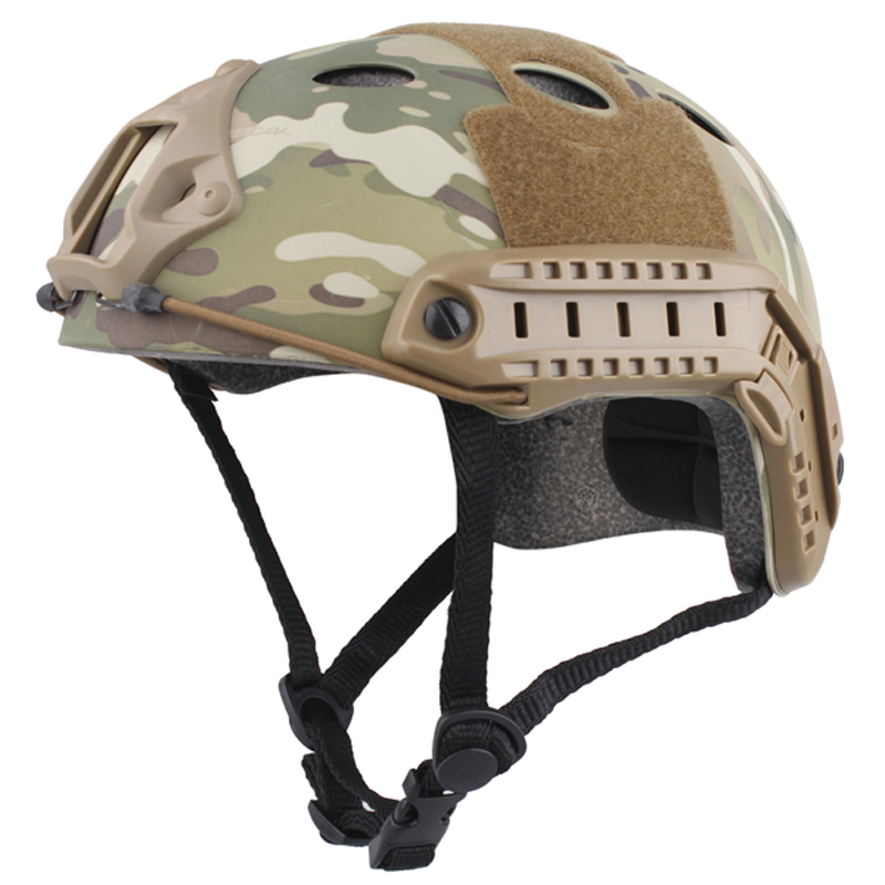 ФОТО 2017  Cascos Limited 58-60cm Abs Men actical Fast Helmet/hot Selling Durable Airsoft Helmet MultiCam EM8810 For Hunting