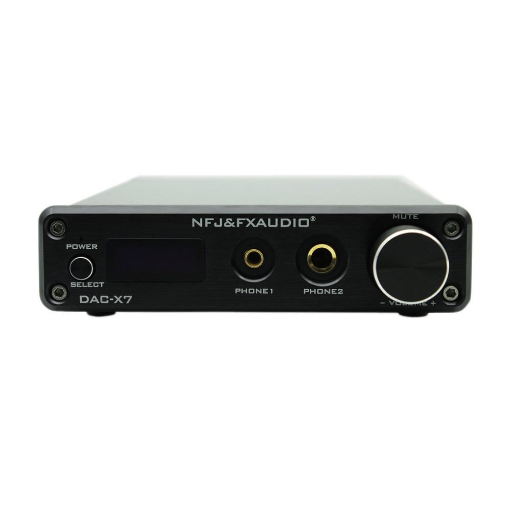 цена на FX-AUDIO Dac-x7 Usb Fever Audio Decoder Pure Digital Amp Amplifier Machine Pre-stage Dsd256 Fever Audio Decoder Amp Machine