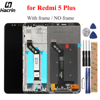 For Xiaomi Redmi 5 Plus LCD Display Touch Screen With Frame FHD 5 99 Digitizer Assembly