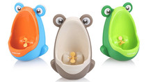 Wall-Mounted Children Baby Potty Toilet Training Kids Urinal Boy Plastic Toilet Seat High Quality Baby Care Groove Product