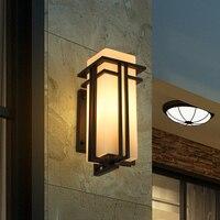 Современный Китайский водонепроницаемый наружных стен терраса двор лампы открытый балкон коридор лампы