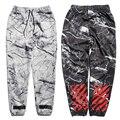 Hot hip hop offwhite corredores de alta calidad para los hombres boy hip hop pantalones largos pantalones de cordón ocasional harajuku pantalones de chándal