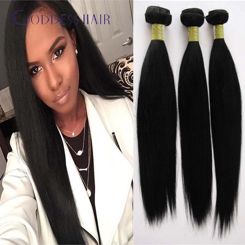 3 Bundles Peruvian Virgin Hair Straight 100 Human Hair Weave12 22