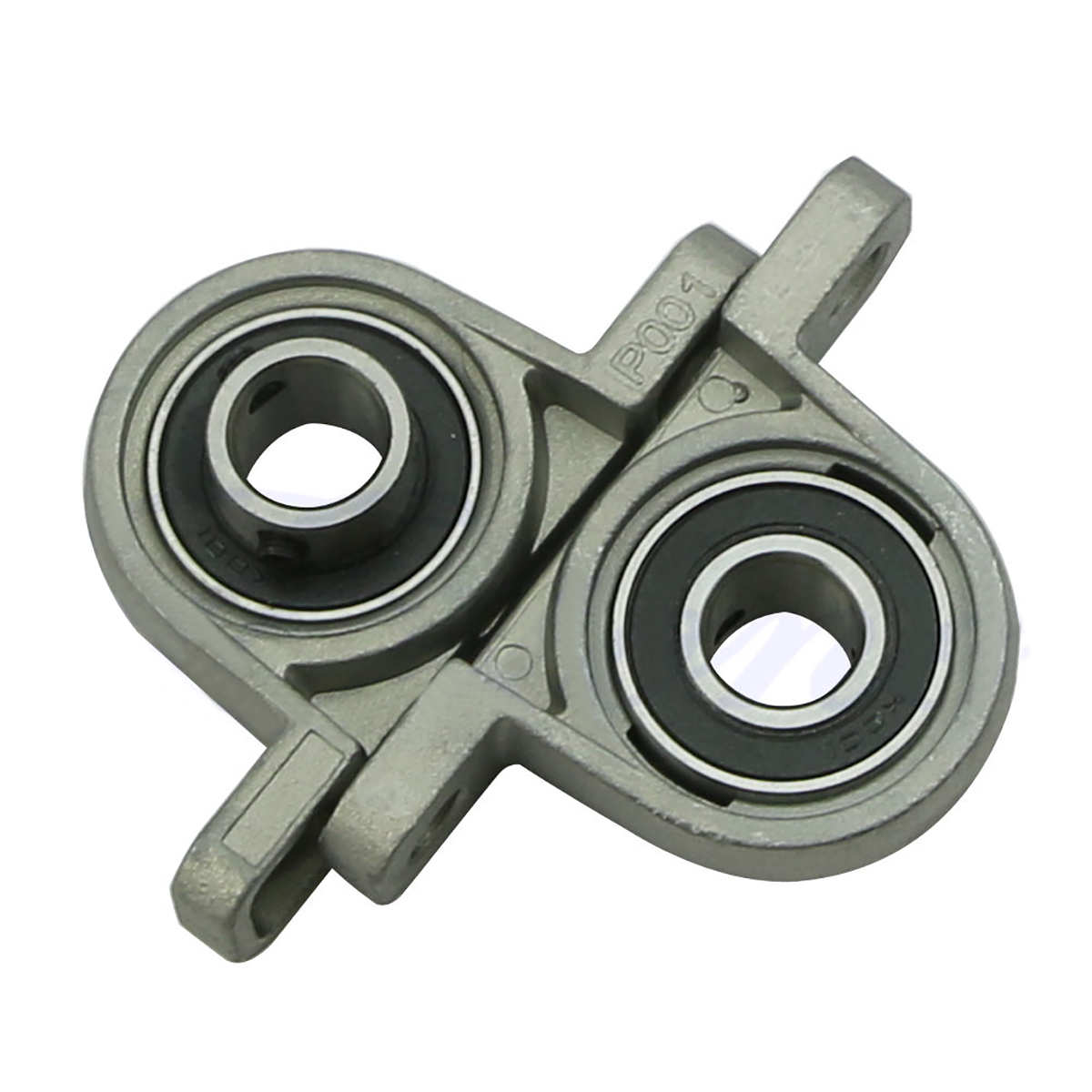 2pcs KP001 Bearing Housing 12mm Diameter Mayitr Well-adapted Zinc Alloy Ball Bearing Shaft Pillow Block Mounted Support 2pcs precision kp001 bearing shaft 12mm diameter zinc alloy pillow block mounted support ball bearings housing roller mayitr