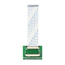 Carte Tcon 50Pin à 60Pin utilisée pour le contact supérieur de HSD070IDW A HSD080IDW1 A