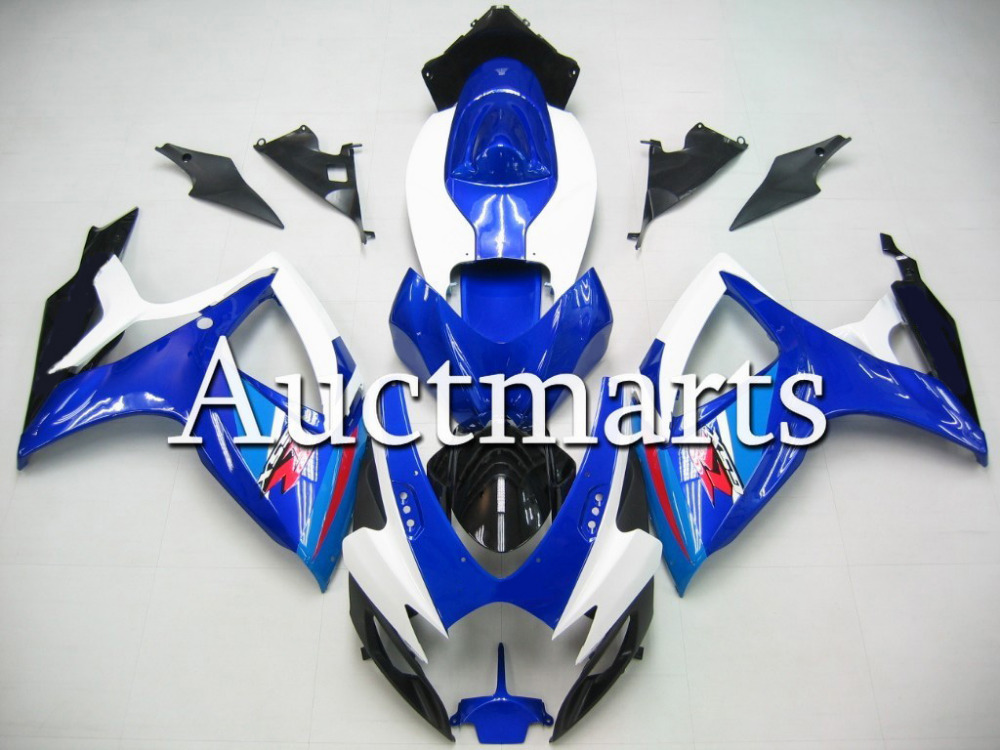 Fit for Suzuki GSX-R 600 2006 2007 ABS Plastic motorcycle Fairing Kit Bodywork GSXR600 06 07 GSXR 600 GSX R600  CB03 new motorcycle ram air intake tube duct for suzuki gsxr600 gsxr750 2006 2007 k6 abs plastic black