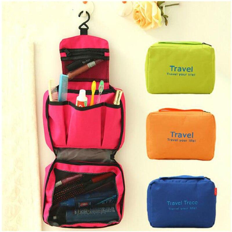 Itapkris Makeup Bag Women Cosmetic Waterproof Bag Large Capacity Men Necessaire Bag Travel Wash Toilet Bag Organizer Case