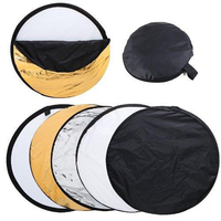 80cm 32 5 In 1 Portable Studio Photography Lighting Diffuser Light Mulit Collapsible Disc Reflector