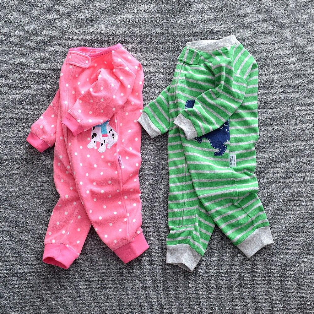 HTB10kW8XIvrK1Rjy0Feq6ATmVXaG 2019 Baby clothes bebes jumpsuit collar fleece newborn pajamas infants baby boys clothes toddler boys clothes coveralls outwear