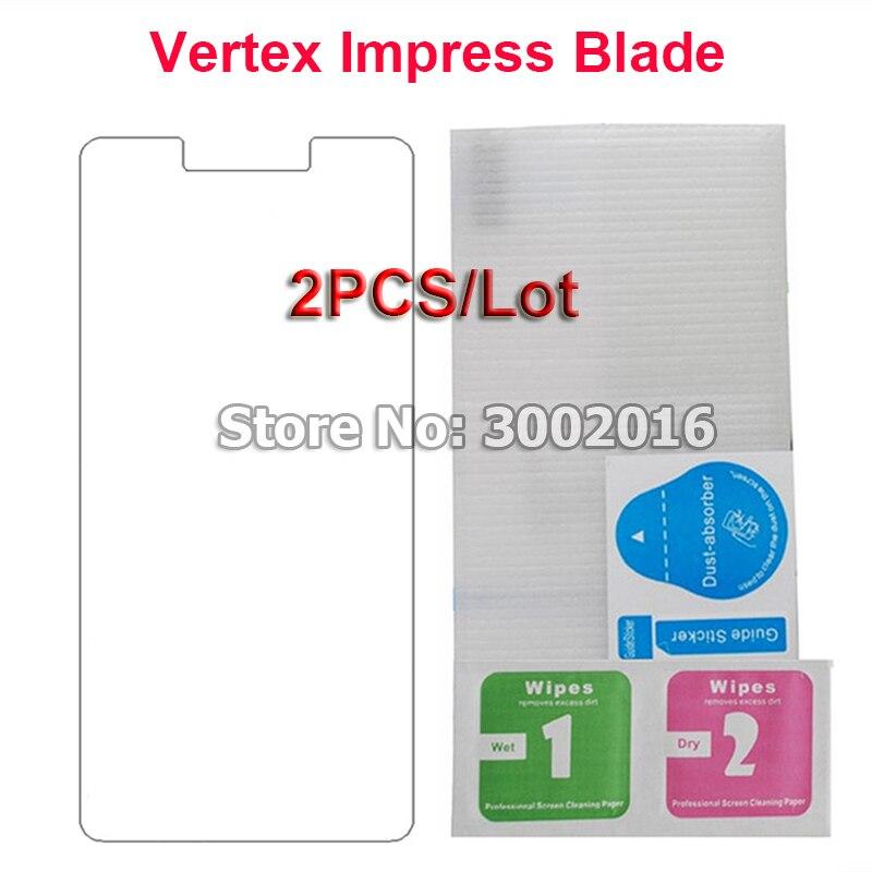 Купить 2 шт. для Vertex Impress Blade защита экрана 9 H взрывозащищенный чехол для смартфона пленка для Vertex Impress Blade закаленное стекло на Алиэкспресс