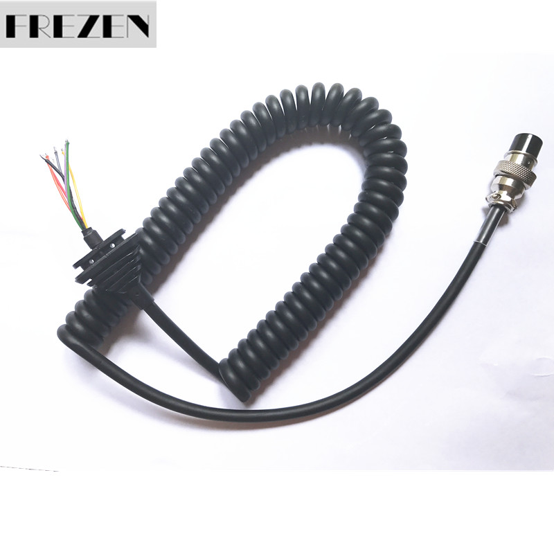 Generic Replacement Mic Cable Cord Wire For Alinco Radio EMS-57 EMS-53 DR635 DR620 DR435