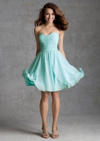 the latest couture dresses sweetheart neck the pleat open back knee length beach dress summer homecoming dresses 2015
