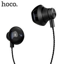 HOCO 3.5 مللي متر سوبر باس السلكية سماعة معدنية ستيريو الصوت في الأذن HiFi سماعة fone دي ouvido آيفون شاومي Redmi 4x ملاحظة 4x