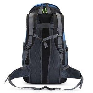 Image 4 - 50L Camping กระเป๋าเป้สะพายหลังเดินป่ากันน้ำ Trekking กระเป๋าผู้ชาย/ผู้หญิงเดินทางกลางแจ้งขี่จักรยาน Daypacks Mountaineering กระเป๋าเป้สะพายหลัง