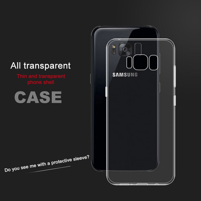 Clear Samsung Galaxy S3, S4, S5 Case 7