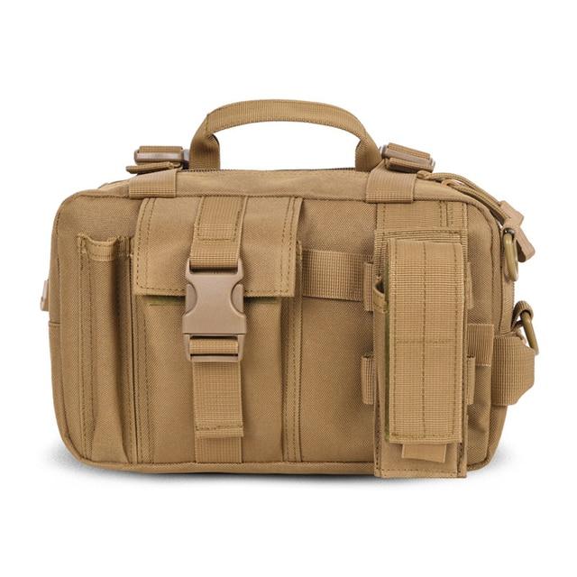 Tactics Camouflage Multi-Function Men Waist Bag Military Fashion Waist Pack Nylon Cloth Unisex Single Shoulder Camera Bag