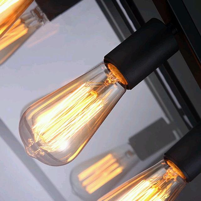 Tienda Online Vintage país Lámparas colgantes hierro forjado ...