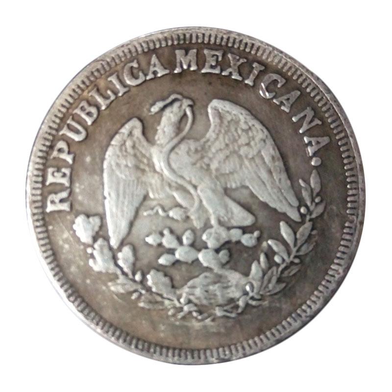 Mexico Eagle With Snake 1898 Silver Coins Peso Collection Souvenior Toy Adults