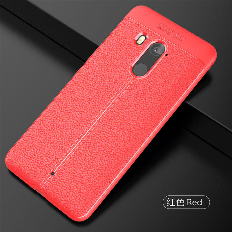 competitive price 7447b 8ed82 Lichi Pattern Luxury Leather Case Back Cover Matte Case For HTC U11 eyes  HTC U11 Plus HTC U11 Life U12 Plus HTC D12 d12 plus