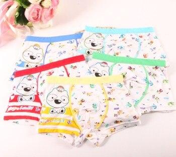 5Pcs Cartoon Boxer Kids Boy Underwear 1