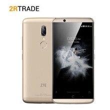 "Originele ZTE AXON 7S 4GB RAM 128GB 20.0MP Quad core 5.5 ""FHD 2560x1440 NFC 4G LTE Mobiele telefoon Smartphone"