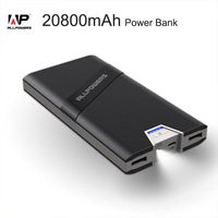 ALLPOWERS 20800mAh Dual USB Power Bank For IPhone X Samsung S8 Mobile Phone Tablets External Battery