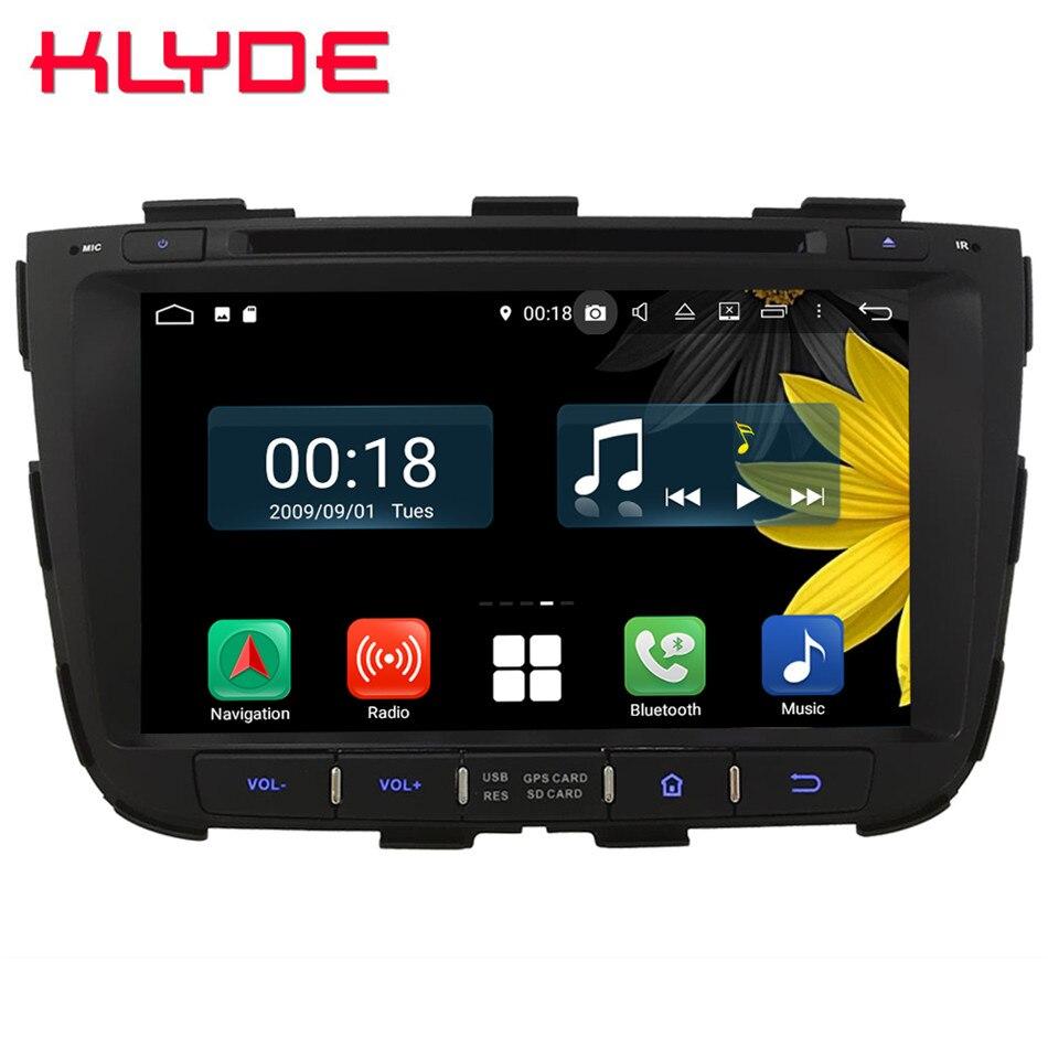 8 Octa Core 4G Wifi Android 8.1 4GB RAM 64GB ROM RDS USD Car DVD Player Radio GPS Glonass Navigation For Kia Sorento 2013 2014
