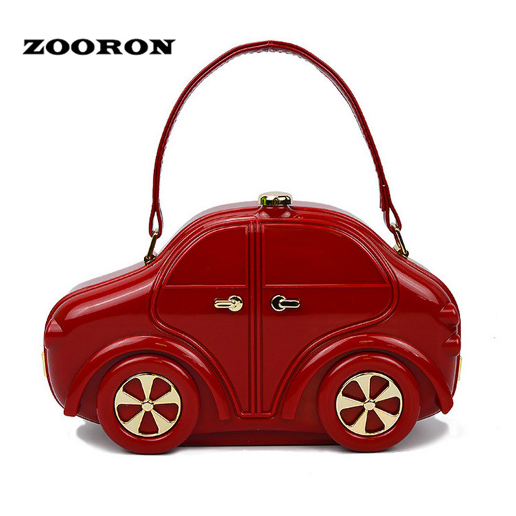Zooron Cars Acrylic Handbag Women Personality High End Banquet Bag Fashion Runway Car Shape In Shoulder Bags From Luggage On